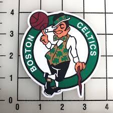 Boston Celtics Nba 4 Tall Vinyl Decal Sticker Bogo For Sale Online