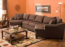 foresthill 3 pc microfiber sectional sofa