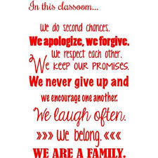 Vinyl Decal In This Classroom Wall Quotes Vinyl Wall Teaching Decor Inspirational Removable Lettering 20 X 14 Walmart Com Walmart Com