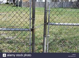 Fence Gate Closure High Resolution Stock Photography And Images Alamy