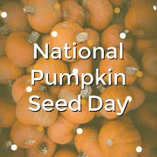 Image result for national pumpkin seed day