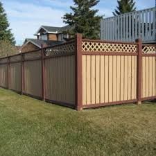 Garden Wooden Fence Lattice Color Ideas Brown Fence Color Paint Corner Fence Pole Wooden Enchange The Yard With B Fence Paint Wooden Design Backyard Fences