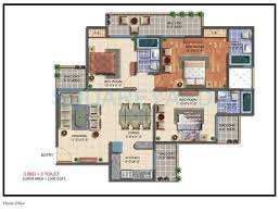 3 bhk 1500 sq ft apartment for