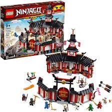 Amazon.com: LEGO NINJAGO Legacy Monastery of Spinjitzu 70670 ...