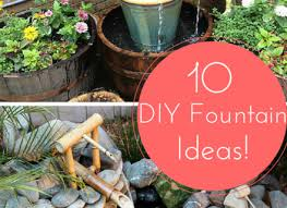 58 diy backyard fountain ideas diy