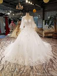 sequins wedding dresses long tulle