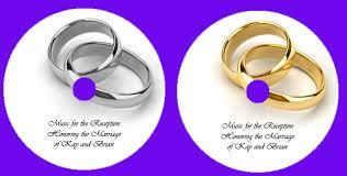 wedding cd design