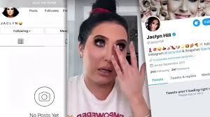 jaclyn hill deletes all her social