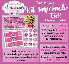 Invitacion Cumpleanos My Little Pony Kit Imprimelo Tu 69 00