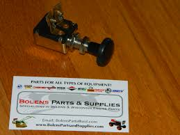 bolens parts ignition switches stop