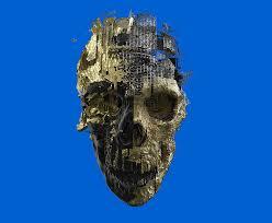 hd wallpaper gray skull wallpaper