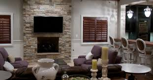 dry stacked stone fireplace ideas