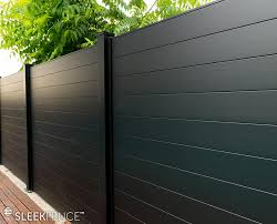 Privacy Fence Panels Sleek Fence Canada Modular Aluminum Fencing And Gate Products