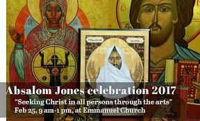Absalom Jones commemoration, Feb. 25, 2017