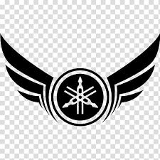 yamaha with wings logo ilration