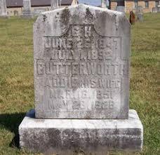 Addie Jones Butterworth (1851-1928) - Find A Grave Memorial