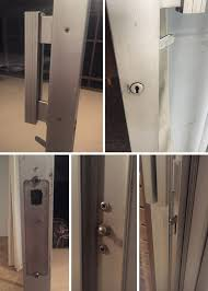 1960s mid century modern sliding glass
