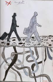 Dé/part Départ Arthur Rimbaud Assez vu. La vision - pascale adnet