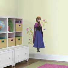 Frozen Princess Anna With Cape Giant Wall Decal Walldecals Com