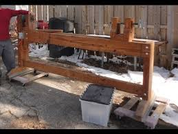 homemade wood lathe 8 long diy lathe