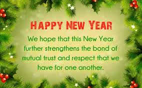 happy new year formal messages clients customers buisness