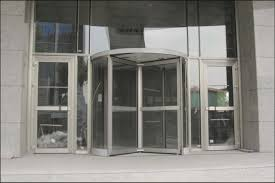 manual revolving door prosel metal