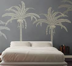 New Palm Tree Stencil For Walls Large 7 5 Feet Tall Reusable And Reversible Stencil For Diy Ho Tree Stencil For Wall Home Decor Wall Art Stencils Wall