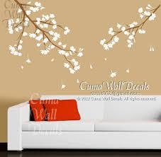Cherry Blossom Wall Decals Vinyl Floral Cuma Wall Decals