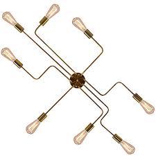 ceiling sputnik chandelier lighting