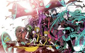 vocaloid characters stock photos