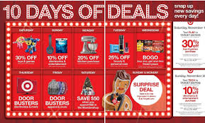 target reveals 10 days of deals program