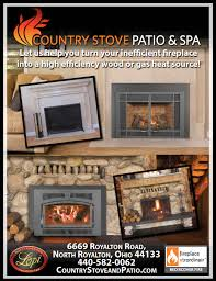 country stove patio fireplace inserts