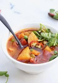 chunky vegan potato soup recipe
