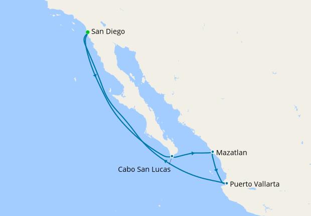 "Resultado de imagen de Oosterdam cruise ship mexico"""