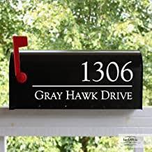 Amazon Com Mailbox Decals Personalized