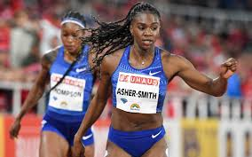 Dina Asher-Smith leaves Olympic and world champions in her wake with  world-leading 200m time