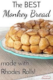 rhodes rolls monkey bread