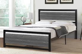 platform bed metal beds the sleep