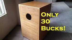 30 cajon drum you can make you