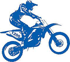 Amazon Com Motorcycle Motocross Supercross Dirt Bike Racing Sport Car Truck Window Vinyl Decal Sticker Handmade