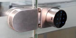 electric strike glass door lock