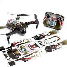 Wrap Skin Decal Stickers Ironman Dji Mavic Air 2 Drone Accessories Australia