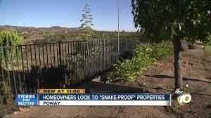 Homeowners Look To Snake Proof Properties