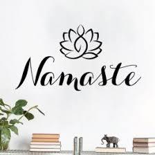 Om Symbol Studio Wall Art Sticker Yoga Meditation