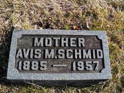 Avis M Simmons Schmid (1885-1957) - Find A Grave Memorial
