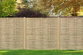 6ft High 1810mm Forest Woven Fence Panel Pressure Treated Elbec Garden Buildings