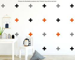 Plus Sign Wall Decal Swiss Cross Wall Decal Cross Decals Etsy