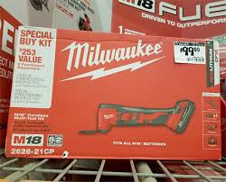 Milwaukee M18 Oscillating Multi Tool Kit Home Depot Black Friday 2019 Tool Deal