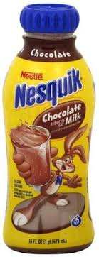 nesquik reduced fat chocolate milk