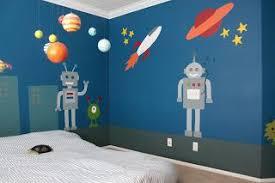 Robot Room Ideas Design Dazzle Robot Kids Room Robot Room Robot Themed Bedroom